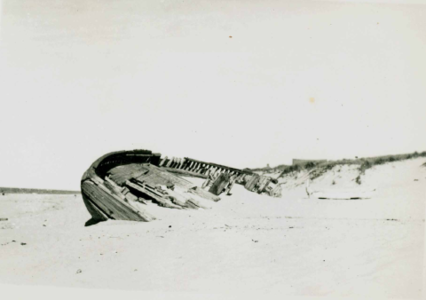 Exposed Wreck on the Back Shore