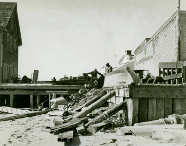 Back of Colonial Cold Storage & Back of Colonial Cold Storage - Provincetown History Preservation ...