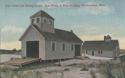 Race Point Life Saving Station Boathouse & Main Building
