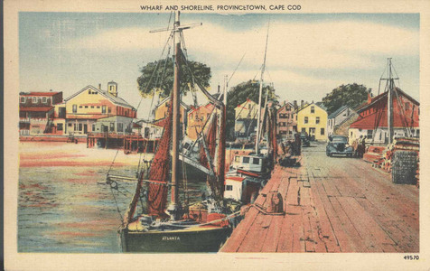 Wharf and Shoreline Provincetown