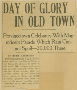 Provincetown 200th Anniversary