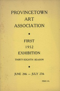 Provincetown Art Association Exhibition (First) 1952