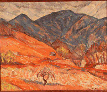 """Blue Ridge Mountains #6"" Oliver N. Chaffee (1881-1944)"