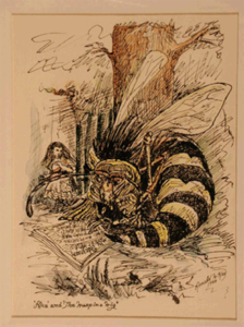 """Alice and Wasp in Wig"" Ronald W. Kay"