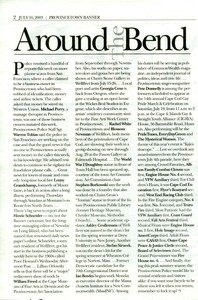 Around the Bend article - 2003