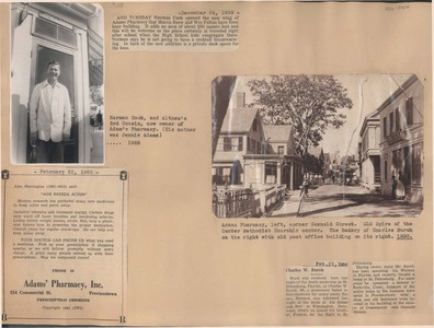 Scrapbooks of Althea Boxell (1/19/1910 - 10/4/1988), Book 6, Page 66