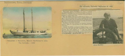 Scrapbooks of Althea Boxell (1/19/1910 - 10/4/1988), Book 7, Page 25