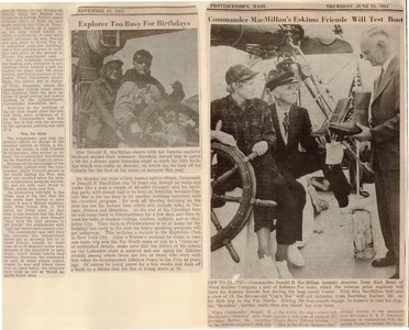 Scrapbooks of Althea Boxell (1/19/1910 - 10/4/1988), Book 7, Page 27