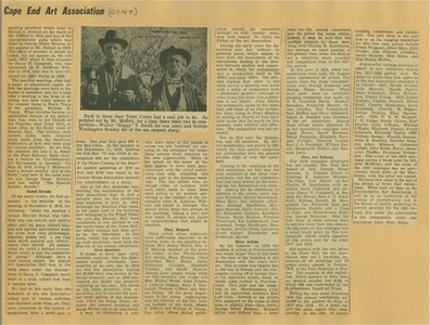 Scrapbooks of Althea Boxell (1/19/1910 - 10/4/1988), Book 9, Page 84