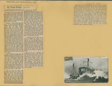 Scrapbooks of Althea Boxell (1/19/1910 - 10/4/1988), Book 9, Page122
