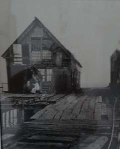 Photograph of Lewis Wharf