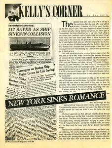 Kelly's Corner 195 – New York Sinks Romance