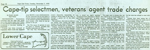 Miscellaneous newspaper articles - 1978-1980