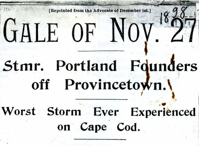 Gale of November 27, 1898