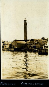 Pilgrim Monument - Early Twentieth Century Photograph