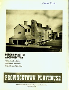 Provincetown Playhouse Design Charette