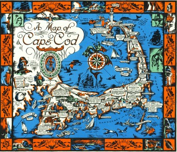 Town Crier Map of Provincetown