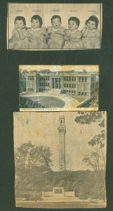 Pilgrim Monument Collection - scrapbook circa 1940's