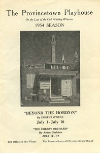 Provincetown Playhouse 1954