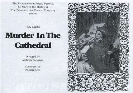 """Murder in the Cathedral"""