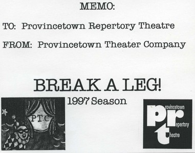 Productions for the 1997 season