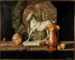 """Untitled (Still life with horse, copper charger)"" Charles A. Couper"