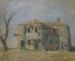 """Untitled (Abandoned House)"" Charles Heinz (1885-1953)"