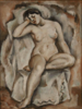 """Untitled (Seated nude)"" William L'Engle (1884-1957)"