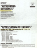 """Appreciating Differences"" Youth Workshops 1994"