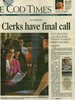 Clerks Have Final Call