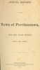 Annual Town Report - 1871