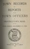 Annual Town Report - 1909