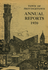 Annual Town Report - 1970
