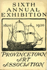Provincetown Art Association Exhibition of 1920