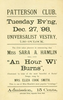 """An Hour Wi Burns"" (December 27, 1898)"