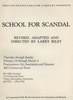 """School for Scandal"""